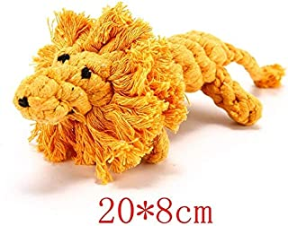 DORLIONA Pet Dog Toy Chewing High Quality Wear-Resistant Dog Cute Duck Toy for Playing Small Medium Large Dog Cat Clean To...