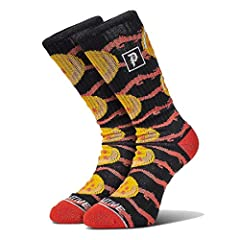 Men's Dragon Jaquard Crew Socks Knitted with Primitive logo embroidery Style Number: PA418S75 New Genuine, 100% Authentic Official Licensed Product