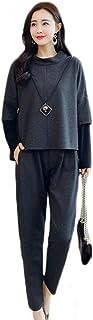 MissingY レディース 春秋冬 スーツ 2点セット パンツスーツ 無地 ファッション 修身 着痩せ レジャー 事務服 レディース ビジネス フォーマル 通勤 オフィス OL 就活 入学式 卒業式