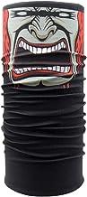 Máscara de ciclismo cómoda y transpirable Balaclava Tube Skull Mascarilla sin costuras Bandana Fantasma Cuello bufanda Escudo facial Sombrero A prueba de viento para ciclismo Motociclismo Esquí Deport