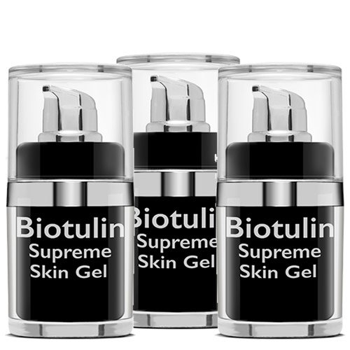 Biotulin - 3 x15 ml Supreme Skin Gel - Limitierte Edition!