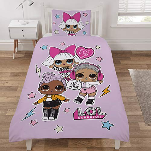 L.O.L Surprise Reveal Duvet Cover Set Single