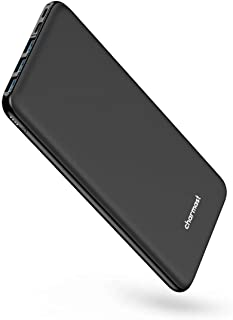 USB C Power Bank, 26800mAh Portable Charger USB C, Charmast Slim Thin 3A High-Speed Battery Pack Type C with 3 Input & 4 O... photo
