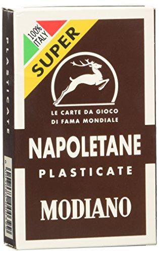 Modiano SCOPA Briscola TRE Sette Italienisches napoletan Plastikkarte Wein NEU in Box