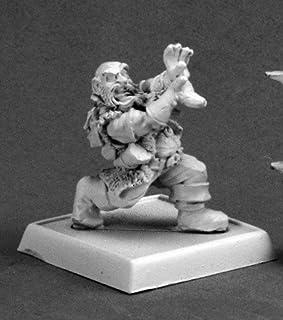 Warlord Gilok Onyxfist Dwarf Wizard Warlord Miniature by Reaper Miniatures