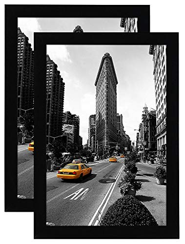 Americanflat 11x17 Picture Frame in Black - Legal Sized...