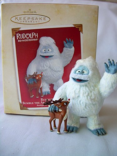 2005 Rudolph and Bumble the Abominable Snowmonster Hallmark Ornament