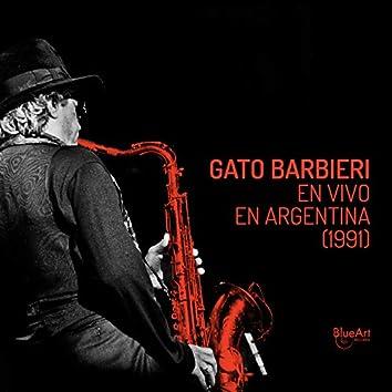 Gato Barbieri en Vivo en Argentina