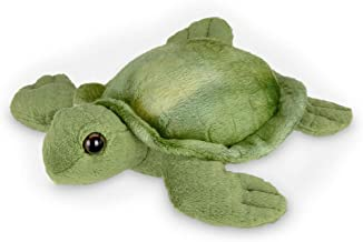 Bearington Lil' Shelton Plush Sea Turtle Stuffed Animal, 7 Inches