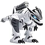 DAXIN - Robot de dinosaurio inteligente teledirigido con mando a distancia, juguete interactivo con programación para caminar, bailar, música, regalo para niños, niñas y niños