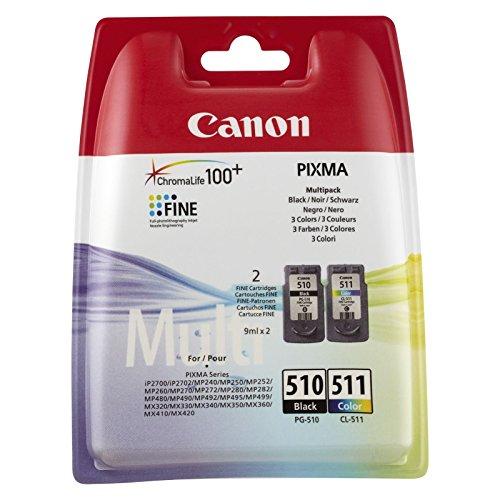 Canon Pixma MX410 2 cartucce d'inchiostro originali per stampanti