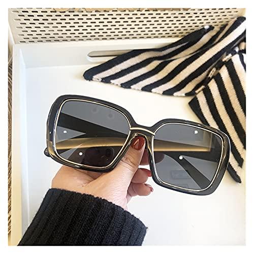 Gafas De Sol Retro Mujer De Gran Tamaño Gafas De Sol Marca Mirror Sombras De Lujo Original Plaza Gafas De Sol Plaza Para Hombres Marco De Metal Tendencia Eyewear UV400 Gafas De Sol Polarizadas
