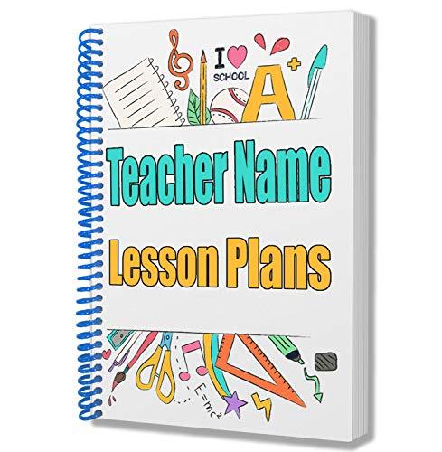 Profesor de regalo un personalizable A5bloc de notas/Notebook–Lección Planes/diario/notas
