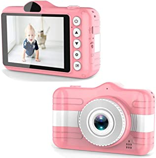 ACHICOO X600 3.5inch Kids Digital Camera Full HD 1080P Built-in 600mAh Battery Support 32GB Memory Card Child Video Camcorder Pink
