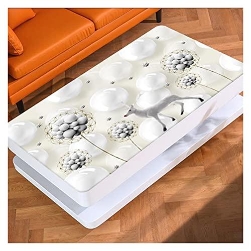 AYLYHD 3D 1Copritavolo Rettangolare Copritavolo Impermeabile a Prova di Polvere a Prova di Olio Poliestere Tovaglia per Tavolo da Pranzo/Interno/Esterno (Color : B, Size : 70x120cm)