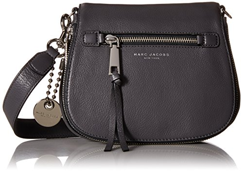 Marc Jacobs Small Recruit Saddle Bag, Shadow