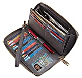 Best Ladies Wallets - Chelmon Womens Wallet Leather RFID Blocking Purse Credit Review