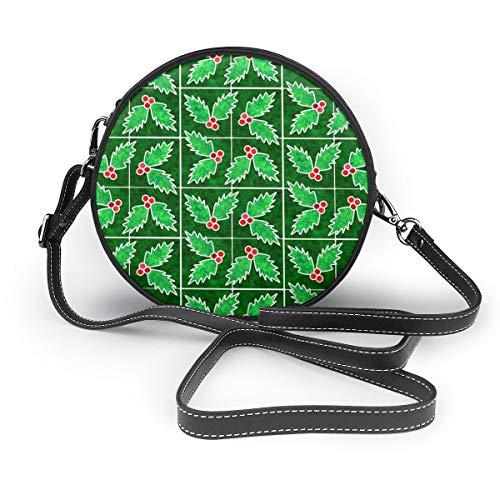 MZZhuBao Handtaschen für Frauen, Marmor Mosaik Holly Fliesen PU-Leder Umhängetaschen, Tote Satchel Messenger Bags