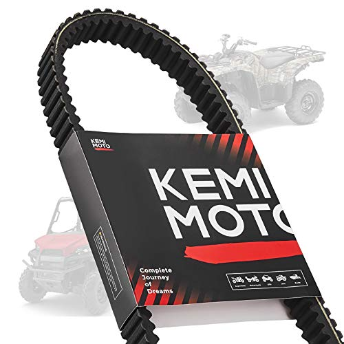 kemimoto Drive Belt, ATV UTV Heavy Duty Carbon Belt 3211077 20G4022 Compatible with Polaris Ranger XP 875cc 400 500 Scrambler Magnum Sportsman Replacement for 3211077, 3211072, 3211048