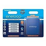Panasonic Eneloop SY3052708 - Pack 4 Pilas Recargables (AAA, con Estuche)