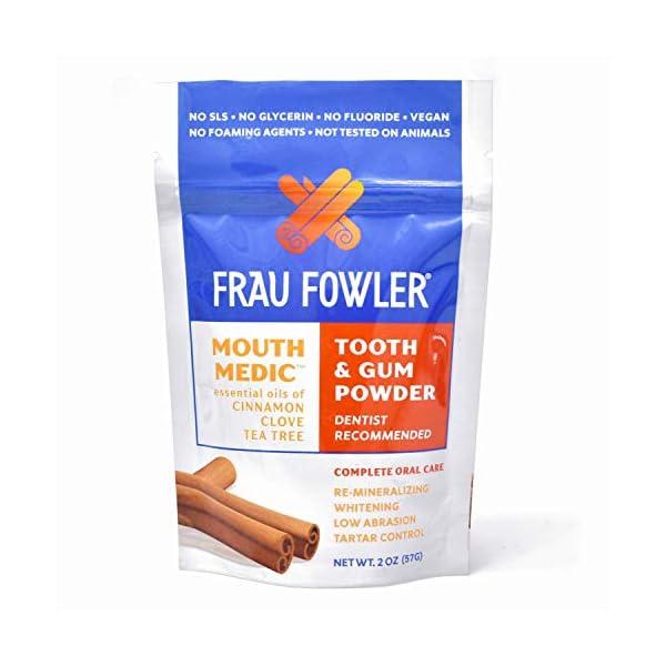 Frau Fowler Tooth And Gum Powder