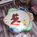 SYFO Kleinkind Pad Wohnzimmer Schlafzimmer Cartoon Runde gepolsterte tropfenfeste Kinder Pad Krabbeln Gamepad (Color : E)