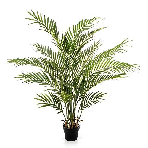 artplants.de Kunstpalme Arekapalme LUVA, 130cm - Künstliche Areca