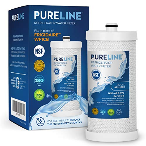 Pureline WFCB & NGRG 2000 Water Filter Replacement. Compatible with WF1CB, WFCB, NGRG 2000, RG-100.