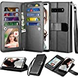 NJJEX Wallet Case for Samsung Galaxy S10 5G, for S10 5G Case, [9...