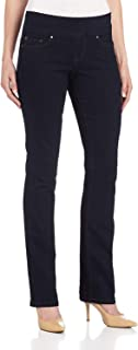 Jag Jeans Womens Jeans Blue US 8 High-Rise Pull-On Bootcut-Leg Stretch