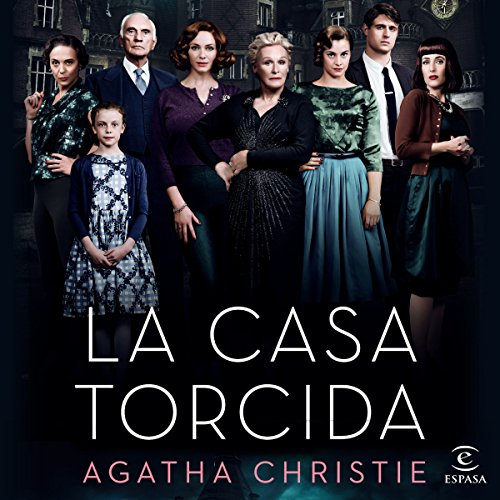 La casa torcida audiobook cover art