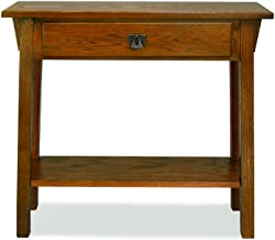 Leick Mission Hall Console Table, Russet