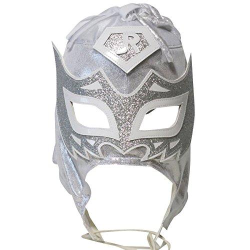 【プロレス マスク】鳥人二世 ボラドール・ジュニア セミプロマスク シルバー ルチャリブレ プロレス