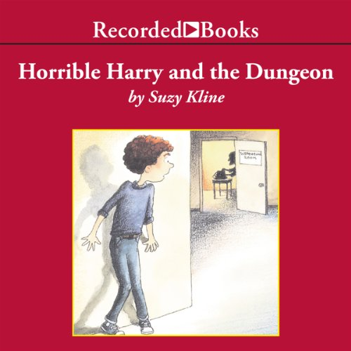 Horrible Harry and the Dungeon audiobook cover art