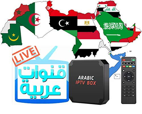 Arabic IPTV Box 2021 Version Box with Newest 4K Video Technology High Speed Ethernet and WiFi Inside USB 2.0 3.0 Plug Opt Technology