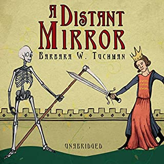 A Distant Mirror audiobook cover art