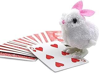 【手品 マジック】ピョンピョンうさぎちゃんのカード当て ラビットはカードを探す うさぎをトランプを探す 予言マジック 近景マジック道具