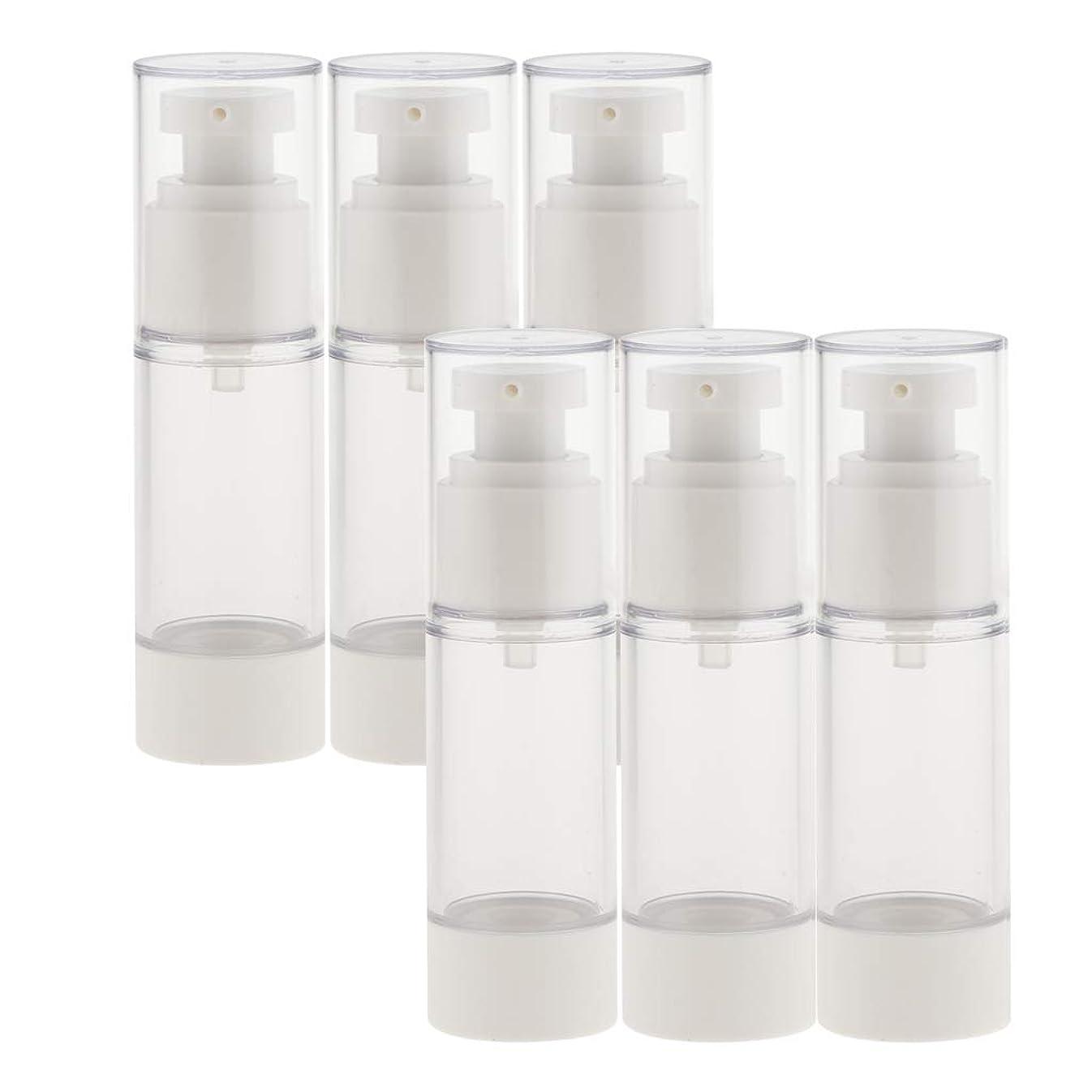 月羊飼い心のこもったdailymall スプレーボトル 6本セット 香水ボトル 真空ボトル ポンプボトル アトマイザー 全2サイズ選べ - 30ミリリットル
