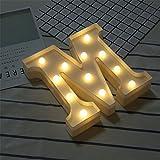 DIY LED Brief Beleuchtung Alphabet Event Dekoration Nachtlichter Stimmungslicht Schlummerleuchten...