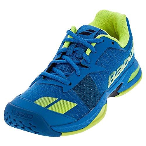 Babolat Jet All Court Junior Tennisschuhe Sport Sneakers Trainers Blue, Blau, 31