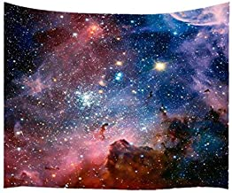 Goodbath Large Tapstry, Space Universe Galaxy and Star in Outer Space Tapestries Wall Hangings for Living Room Bedroom Dor...