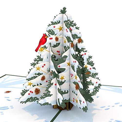 Night Before Christmas Tree Pop Up Karte - 3D Karte, Weihnachtsbaumkarte, Holiday Pop Up Karte, 3D Weihnachtskarte, Merry Christmas Card, Holiday Greetings Card