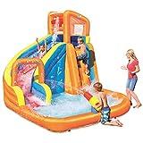 H2OGO! 12' x 10'6' x 8'10' Turbo Splash Zone Mega Water Park
