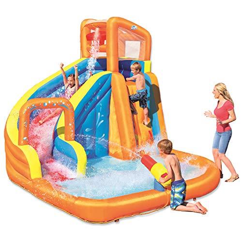"""H2OGO! 12' x 10'6"""" x 8'10"""" Turbo Splash Zone Mega Water Park"""