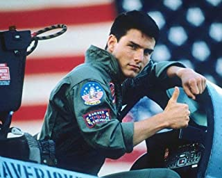 Top Gun Tom Cruise thumbs up sign in cockpit fighter jet 16x20 Poster