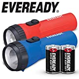 EVEREADY LED Flashlight Multi-Pack, Bright and Durable, Super Long Battery Life, Use for Emergencies, Camping,...