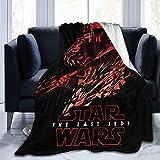 Star Wars leichte gemütliche Flanelldecke aus Fleece, weich und warm, Überwurf für Couch, Sofa, Babydecken für Kinder, Erwachsene, Männer, Frauen, Schlafzimmer, Schlafzimmer