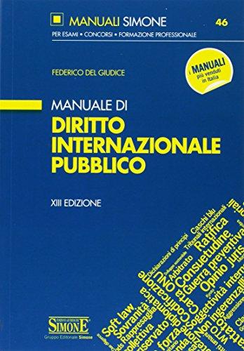 Manuale di diritto internazionale pubblico