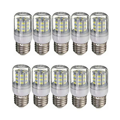 GHC LED Lampen, Solar Power Light und Off-Grid 10er-Pack 12V-LED-Niederspannungsglühlampen für RV E26 / E27, mittlere Einschraubleistung 3,5 W (entspricht 30 Watt Glühlampe) für RV Camper Marine