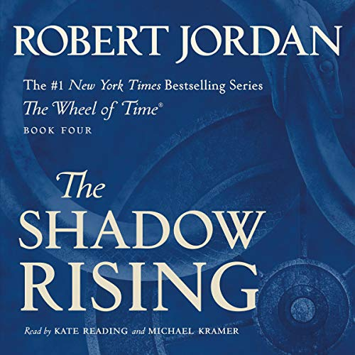 The Shadow Rising audiobook cover art